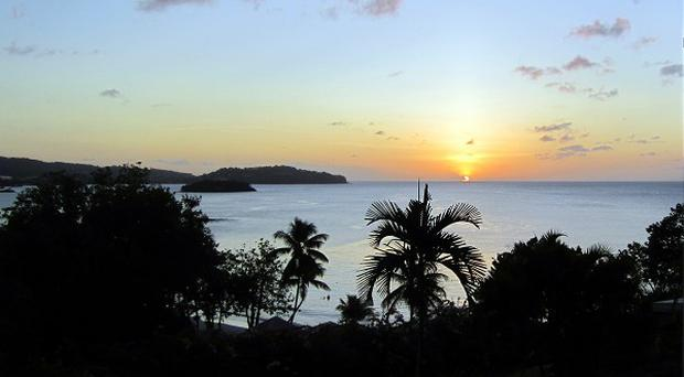 A Briton has died after being attacked on a boat off St Lucia