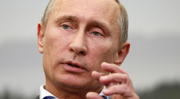 Russian president Vladimir Putin has said individuals are not being persecuted for their sexual orientation