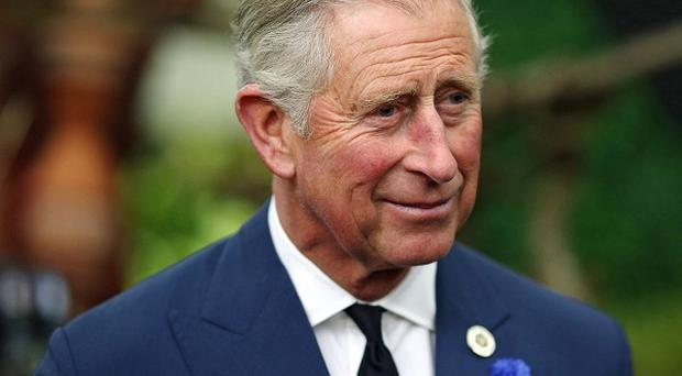 The Prince of Wales has started a Sport Relief race at Dumfries House in East Ayrshire