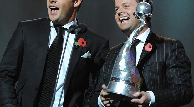 Anthony McPartlin and Declan Donnelly are looking to capture another National Television Award