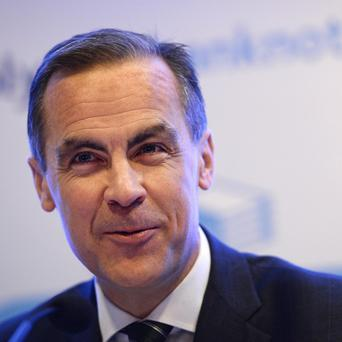 File photo dated 18/12/13 of Governor of the Bank of England Mark Carney who said there is