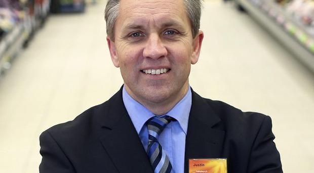 Justin King who is stepping down as chief executive of Sainsbury's.