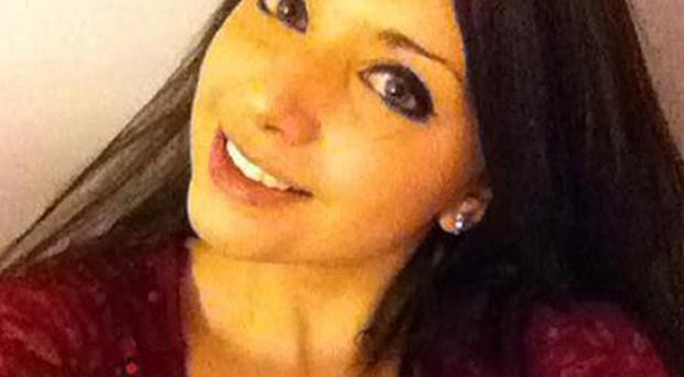 Megan Roberts, 20, who has been missing since around 2am on Thursday.