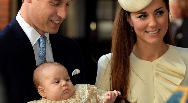 Prince George is on his first overseas holiday