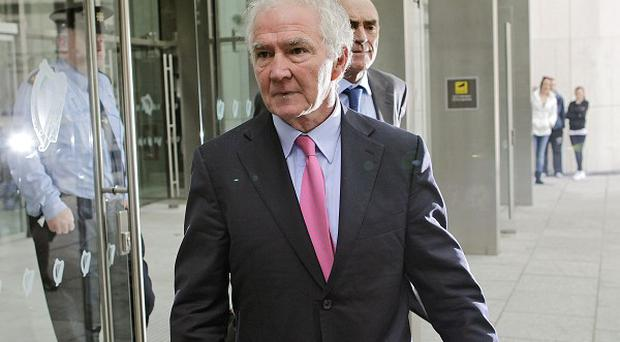 Former chairman Sean Fitzpatrick is due before court 19 of the Criminal Courts of Justice in Dublin for a trial that is expected to last six months