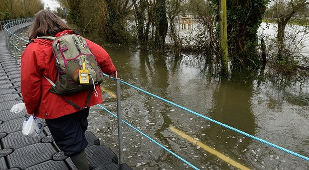 The Prince of Wales will visit flood-hit areas of Somerset including Langport