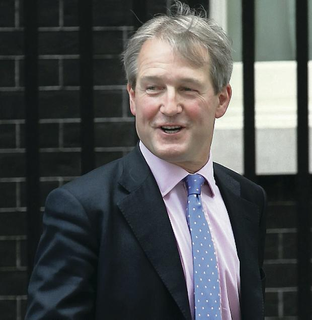 Replaced: former Northern Ireland Secretary Owen Paterson