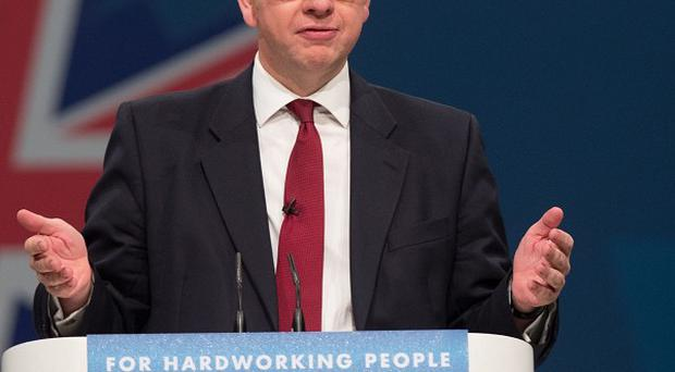 Education Secretary Michael Gove has claimed Nick Clegg's views on educational reform are somewhat divided