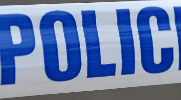 The man is thought to have been stabbed before he got into his car