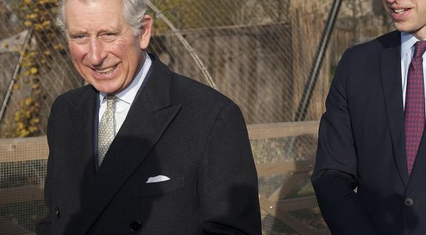 Charles and William have joined forces to back a campaign against illegal wildlife trade