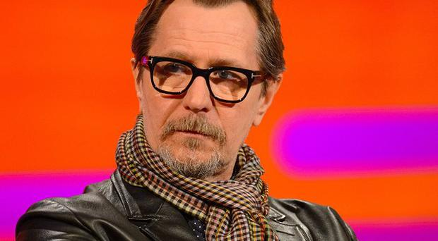 Gary Oldman said he did the video for his friend David Bowie last year as a favour