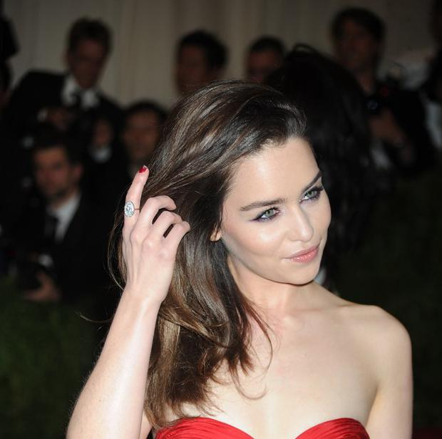 Emilia Clarke has been voted the world's most desirable woman