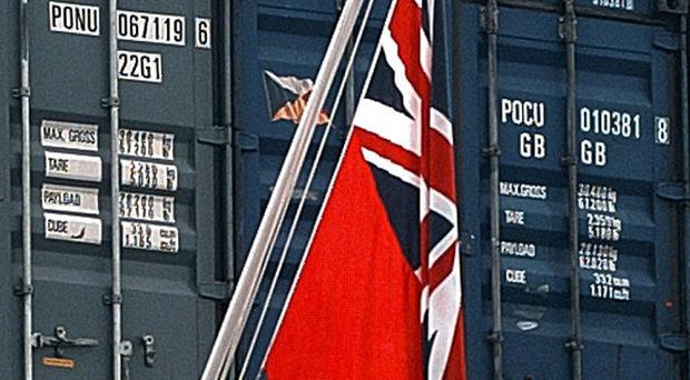 A cruise liner was reportedly ordered to take down its British flag when it docked in Buenos Aires, Argentina