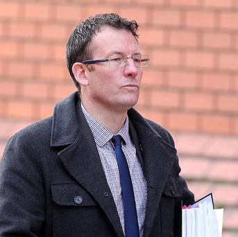 BNP activist Adam Walker, who has lost his appeal against Michael Gove