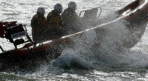 Lymington coastguard, fire services and the army were called to the Marine Restaurant in Milford on Sea, Hampshire