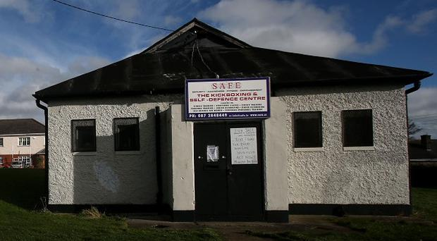 The British Legion hall in Killester, Dublin, which is on sale for 50,000 euro (£41,000)