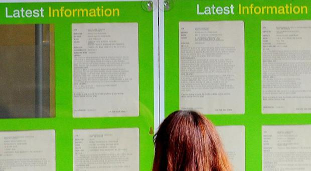 The latest unemployment figures are due to be published on Wednesday