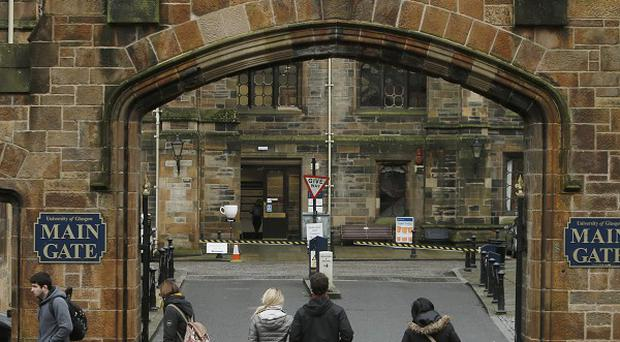 The University of Glasgow where Edward Snowden is one of four candidates to be named rector