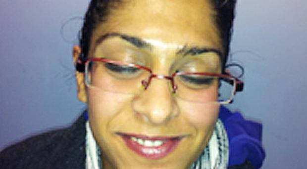Zainab Rasul, 30, is missing and believed to be in Barcelona with her daughter Farah Afzal and Farah's father Mohammed Afzal (Harrow Council/PA)