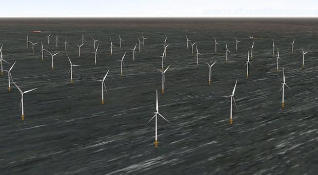 London Array's wind farm is the biggest of its kind in the world