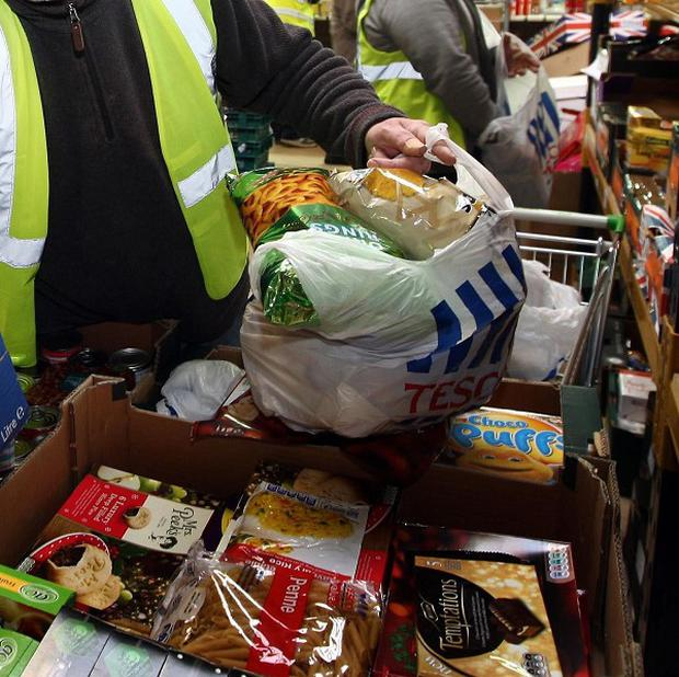 The bishops say half a million people in Britain have visited food banks since last Easter