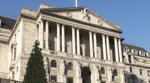 The Bank of England is