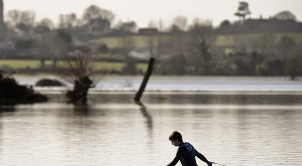 The UK has suffered the wettest winter in records dating back to 1910, the Met Office revealed
