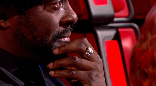 Will.i.am was moved to tears by one of the performers in the latest episode of The Voice (BBC/PA)