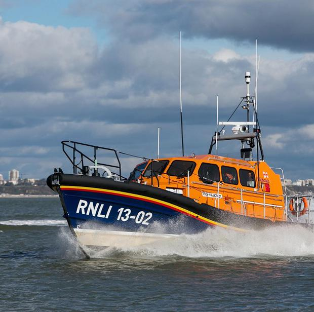The Royal National Lifeboat Institution's new Shannon class all-weather lifeboat. (PA)