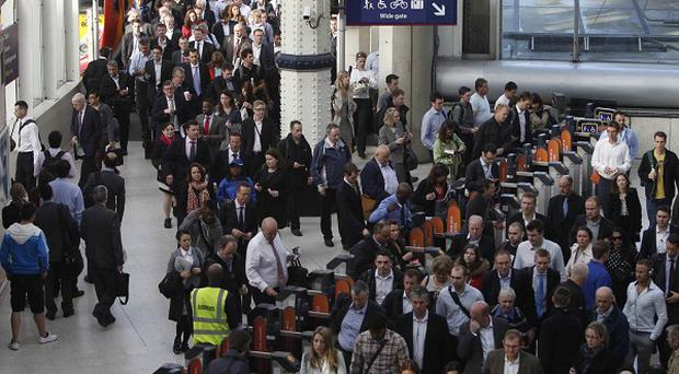 96 million people passed through London's Waterloo station