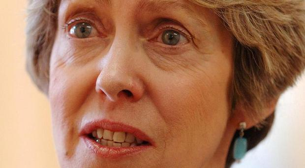 Patricia Hewitt said the National Council for Civil Liberties was
