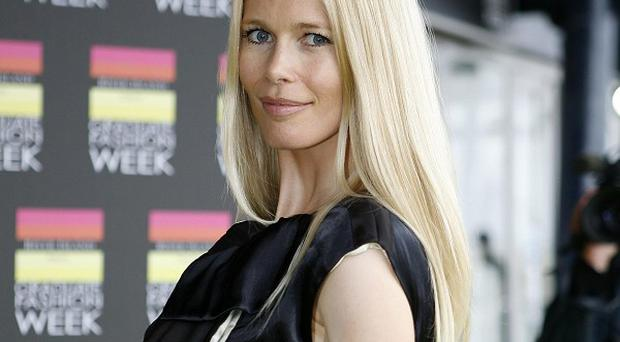 Claudia Schiffer turned down a £1 million dinner date with a prince.