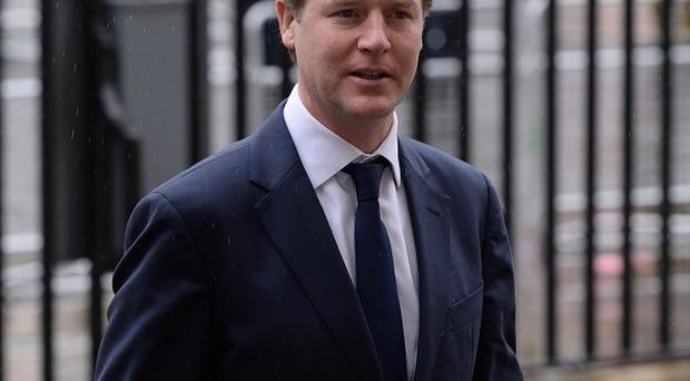 Nick Clegg has joined calls for a