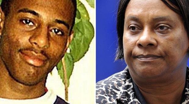 Stephen Lawrence and his mother Doreen