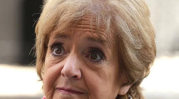 File photo dated 24/04/13 of Margaret Hodge, the chairwoman of the influential House of Commons Public Accounts Committee, who has said she had