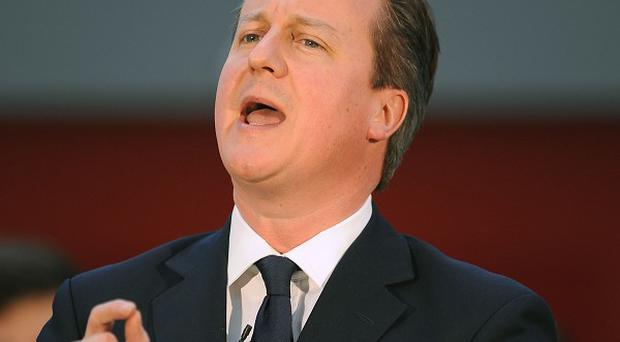 David Cameron refuses to be drawn on whether George Osborne will announce changes to the higher rate of tax