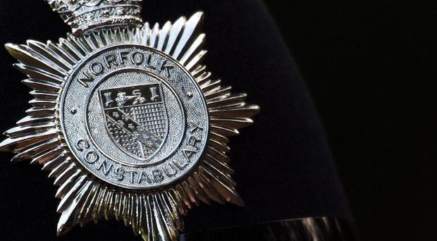 Norfolk Police are attending the scene of a helicopter crash