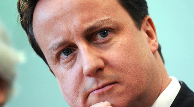 David Cameron has vowed to debunk the 'myth' of scaremongering about Scottish independence