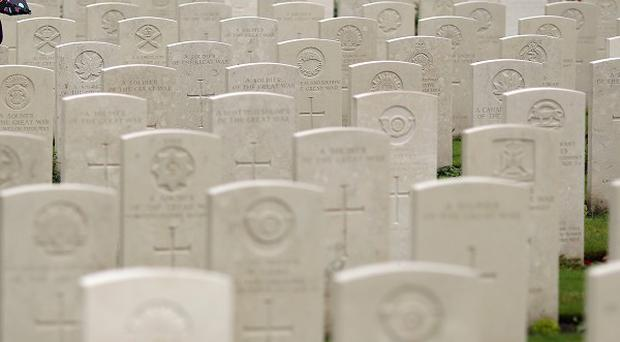 Twenty soldiers will be laid to rest at a service at the Commonwealth War Graves Commission Cemetery at Loos-en-Gohelle near Lens