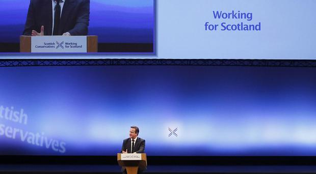 Scottish Tories will continue their conference following the keynote speech by David Cameron