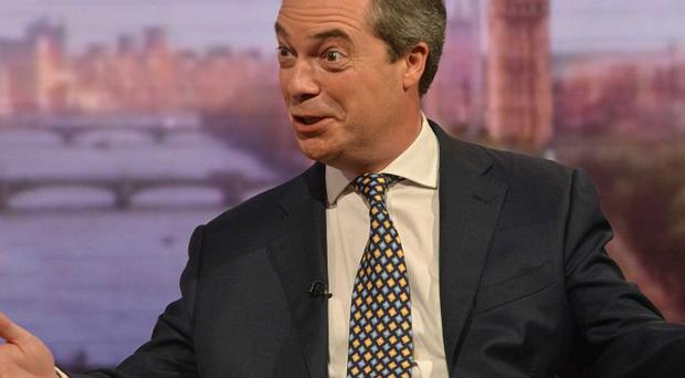 About 30% of people who said they were certain to vote in European Parliament elections in May are backing Nigel Farage's Ukip