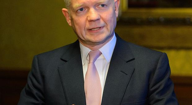 Foreign Secretary William Hague said 'grave dangers' are linked to violence in Crimea
