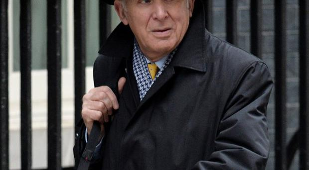 Vince Cable stressed the importance of lending to small and medium businesses.