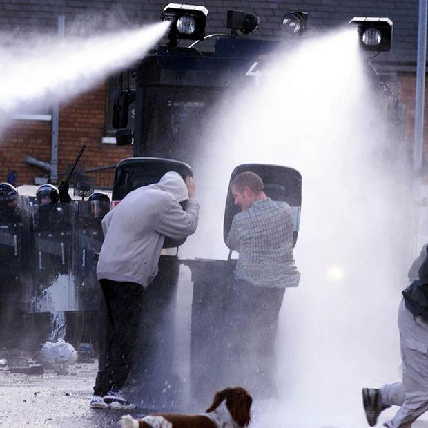 Boris Johnson insists the majority of Londoners back the water cannon plans