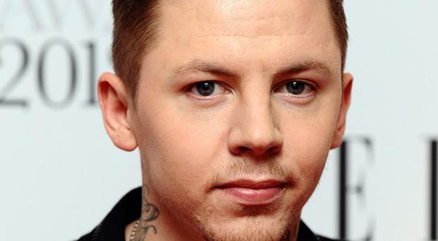 Professor Green has been charged with drink-driving