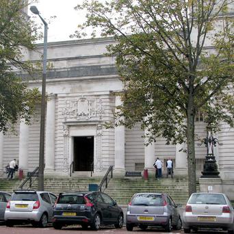 A teacher convicted of drugs offences was jailed at Cardiff Crown Court