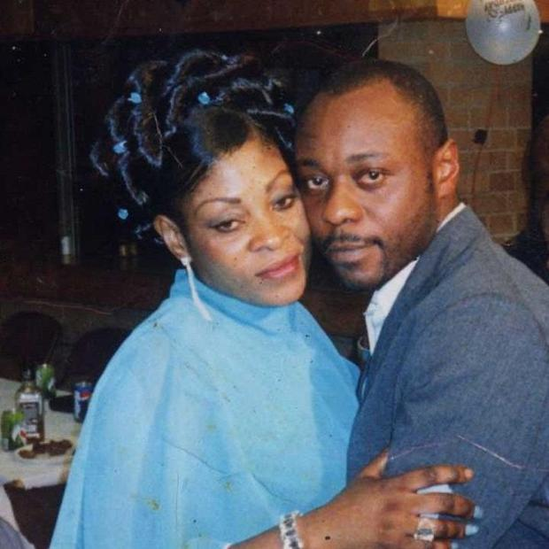 Jimmy Mubenga, pictured with his wife Adrienne Makenda Kambana, died while being restrained on a flight back to his native Angola
