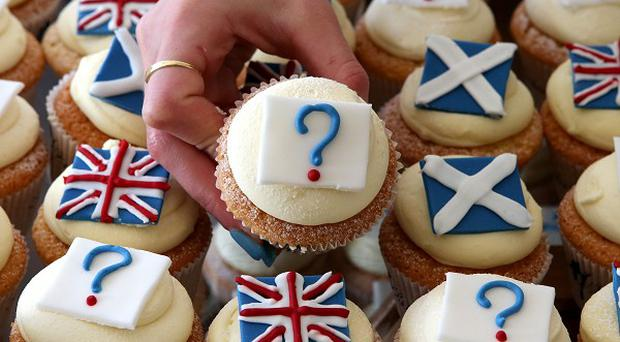 A new opinion poll suggests support for independence is at 40 per cent, with 45 per cent against and 15 per cent still undecided
