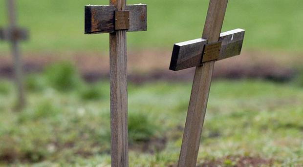 Ten soldiers found during construction work near the village of Beaucamps-Ligny were formally identified after their relatives provided DNA samples