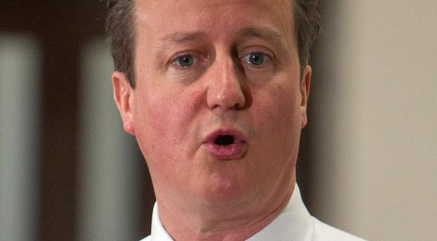David Cameron says the world should speak 'with vigour' on the Ukraine crisis